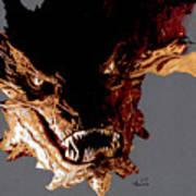 Smaug The Terrible Art Print