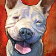 Smile Art Print by Sean ODaniels