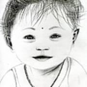 Smiling Child Art Print