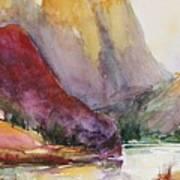 Smith Rock Fall Morning 2 Art Print