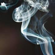 Smoke 10 Art Print