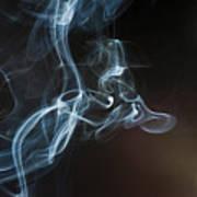 Smoke 5 Art Print