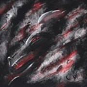 Smoke Dragon Art Print