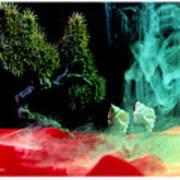 Smoke In My Mind - 4 Art Print
