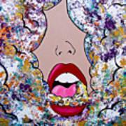 Smoke The Good, Exhale The Bad Art Print