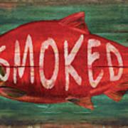 Smoked Fish Art Print
