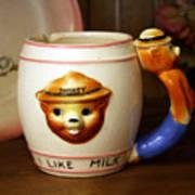 Smokey The Bear Mug Art Print