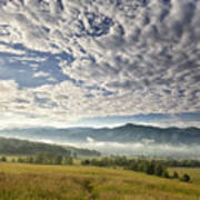 Smokies Cloudscape Art Print by Andrew Soundarajan