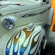 Smokin' Hot - 1938 Chevy Coupe Art Print