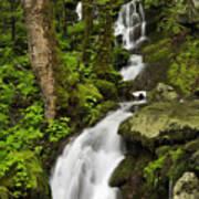 Smoky Mountain Cascade - D002388 Art Print