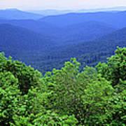 Smoky Mountain National Park Art Print