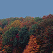 Smoky Mountains In Autumn Art Print