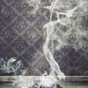 Smoky Shoes Art Print