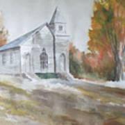 Smyth Chapel, Emory, Virginia Art Print