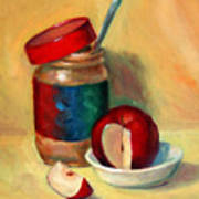 Snack Time Art Print
