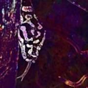 Snake Lurking Mouse Hunter  Art Print