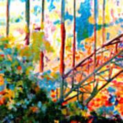 Snake River Bridge Art Print