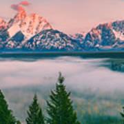 Snake River Overlook - Grand Teton National Park Art Print