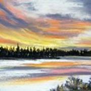 Snake River Sunset Art Print