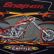 Snap-on Chopper Art Print