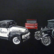 Snap-on Ford Trucks Art Print