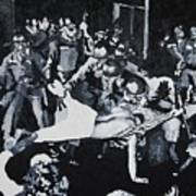 Sncc Photographer Is Arrested By National Guard Art Print