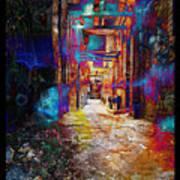 Snickelway Of Light Art Print