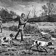 Snipe Hunters, 1886 Art Print
