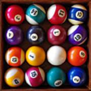 Snooker Balls Art Print