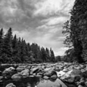 Snoqualmie River Art Print