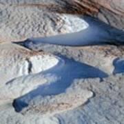 Snow And Sand Art Print