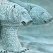 Snow Blind Art Print
