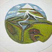 Snow Cap Resort Art Print