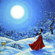 Snow Like Stars Art Print