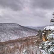 Snow Remoteness Art Print