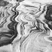 Snow Shapes Viii Art Print