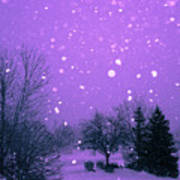 Snow Song Art Print