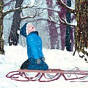 Snow Trance Art Print