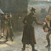 Snowballing The Watchmen Art Print