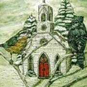 Snowbirds Visit St. Paul Art Print