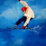 Snowboard Art Print