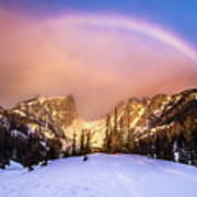 Snowbow Art Print