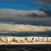 Snowcaped Peaks Art Print