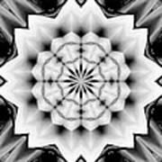 Snowflake 9 Art Print