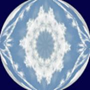 Snowflake Orb Art Print