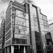 snowhill office development in new financial area of Birmingham UK Art Print