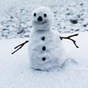 Snowman 1 Art Print