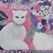 Snow's Garden Art Print