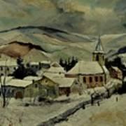Snowy Landscape 780121 Art Print
