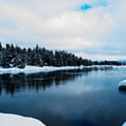 Snowy River Banks Art Print